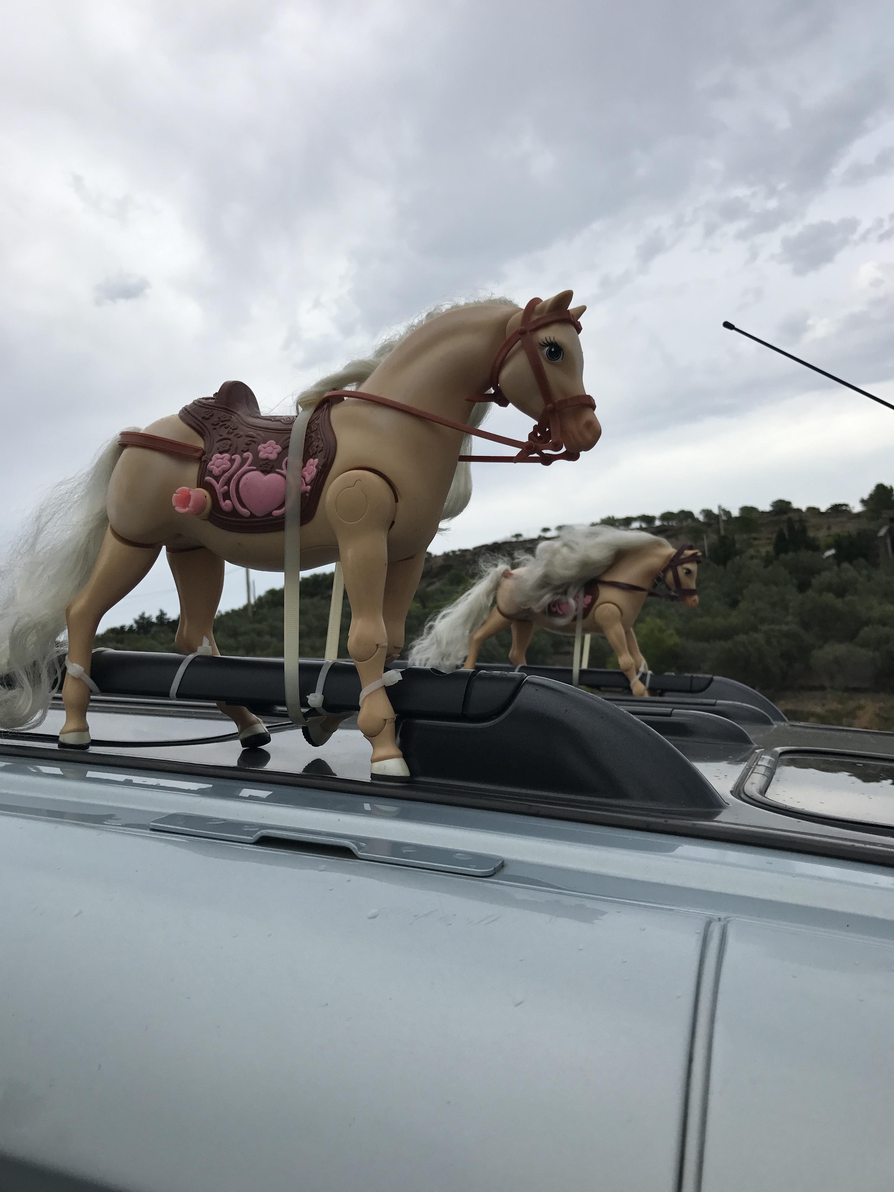 Une voiture en Espagne...
